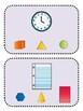 Match and Clip (Kindergarten Geometry Activity, K.G.1)