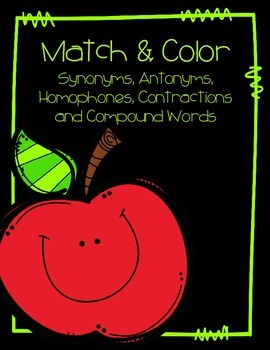 Match and Color Freebie