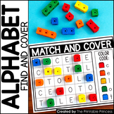 Match and Cover Uppercase/Lowercase Alphabet Activities for Letter Recognition