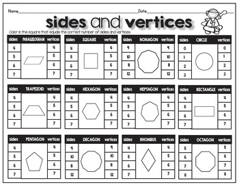 Match and Memory Game - 2D Shapes