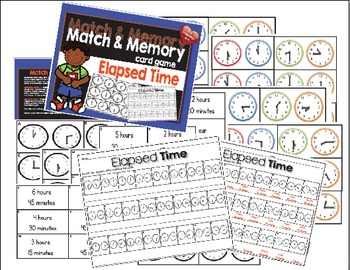 Match and Memory Game - Elapsed Time