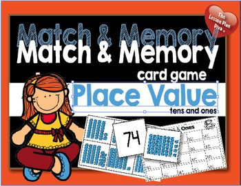 Match and Memory  Game - Place Value