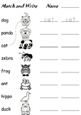 Match and write Vocabulary ESL Kids Worksheets