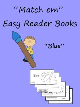 """Match em"" Easy Reader: Blue"