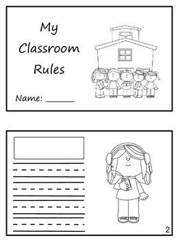 """Match em"" Easy Reader: Classroom Rules"
