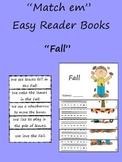 """""""Match em"""" Easy Reader: Fall"""