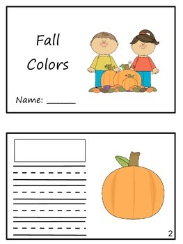 """Match em"" Easy Reader: Fall Colors"