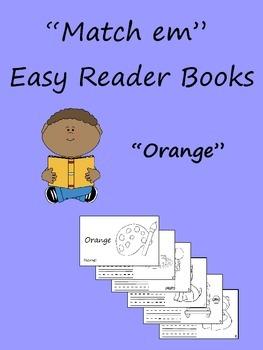 """""""Match em"""" Easy Reader: Orange"""