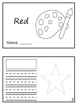 """""""Match em"""" Easy Reader: Red"""