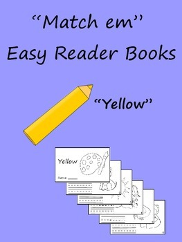 """Match em"" Easy Reader: Yellow"