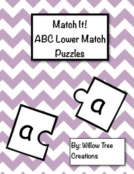 Match it! ABC Lower Match