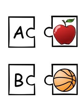 Match it! ABC Picture Puzzle