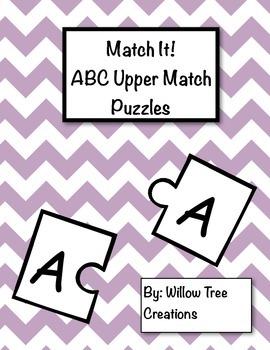 Match it! ABC Upper Match