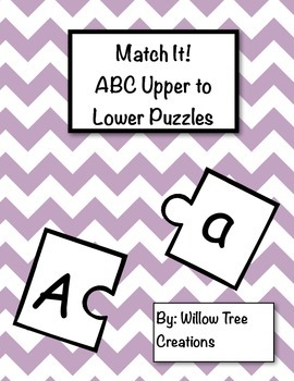 Match it! ABC Upper to Lower Match