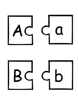 Match it! ABC Upper to Lower Match