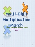 Double-Digit Multiplication Match It Activity