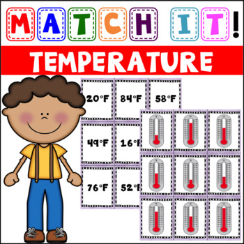Match it!: Fahrenheit & Celsius Matching Cards and Cut & Paste