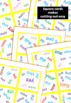 Sight Word Card Game (Dobble, Spot It type game) Set3