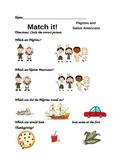 Match it! Thanksgiving