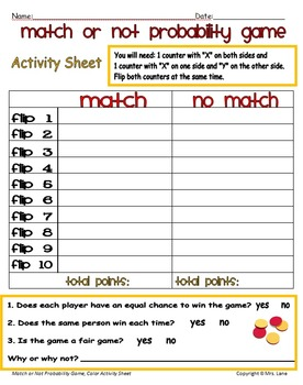 Match or Not? Probability Game