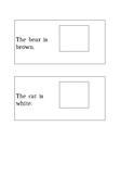 Match pictures to kindergarten Dolch Word list