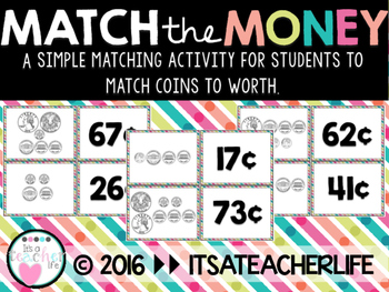 Match the Money | Counting Coins
