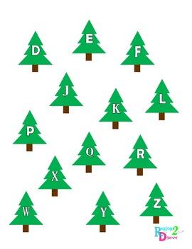 Match the Alphabet Bundle