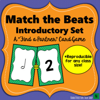 Match the Beats Game Introductory Set (Basic Note Values)