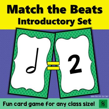 "Music Game: Rhythm Activities ""Match the Beats"" Intro Set"