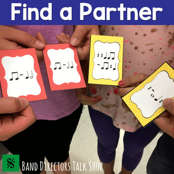 "Match the Beats Game Vol. 1 (A ""Find a Partner"" Game) – 4 Sets!"