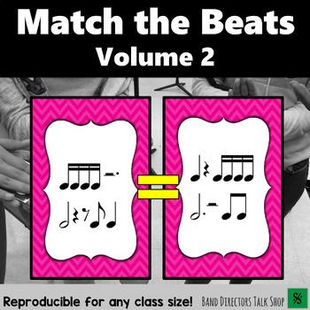 "Music Game: Rhythm Activities ""Match the Beats"" Game Vol 2"
