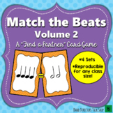 """Match the Beats Game Vol. 2 (A """"Find a Partner"""" Game) – 4 Sets!"""