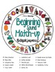 Beginning Sound Match-up BUNDLE- Hearing Initial Sounds