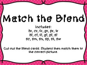 Match the Blend