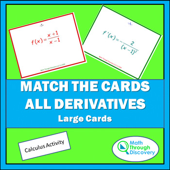 Match the Cards - All Derivatives