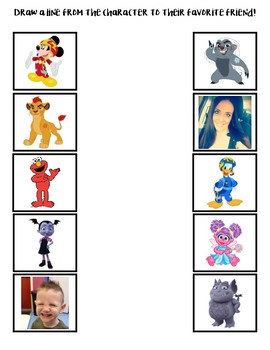 Match the Characters