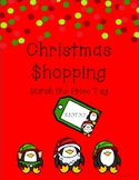 Match the Christmas Price Tags - Decimals