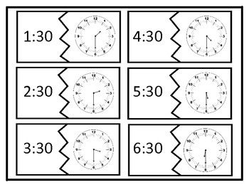 Match the Clock to the 5 min Interval - 144 Clocks!