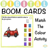 Match the Colour Activity for Toddlers - Boom Cards™ Dista