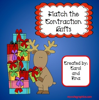 Match the Contraction Gifts