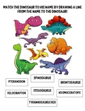 Match the Dinosaur to his name!