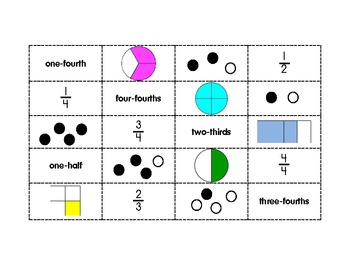 Match the Fractions