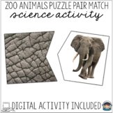 Match the Fur to the Zoo Animal – Visual Discrimination Sc