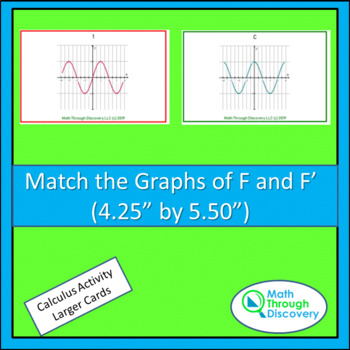 Match the Graphs of F and F '