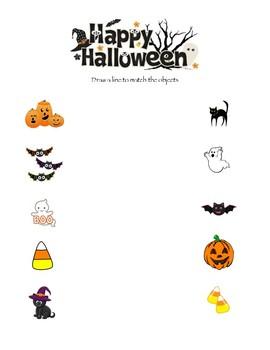 Match the Halloween Figures