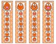 Match the Happy Dots Strip Clip Cards