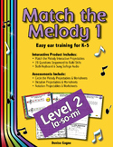 Match the Melody 1; Level 2 (la-so-mi)