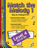 Match the Melody 1; Level 4 (mi-re-do)