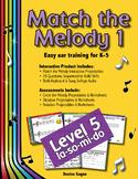 Match the Melody 1; Level 5 (la-so-mi-do)