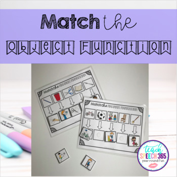 Match the Object Function